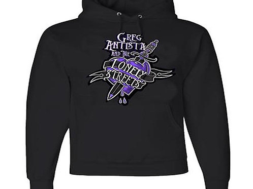 """GREG ANTISTA & THE LONELY STREETS """"HEART"""" PULLOVER HOODIE"""