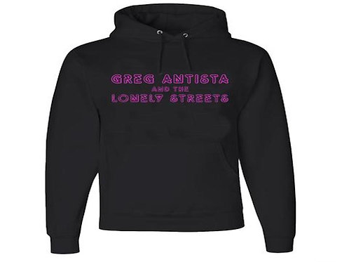 """GREG ANTISTA & THE LONELY STREETS """"NEON HEAT"""" PULLOVER HOODIE"""