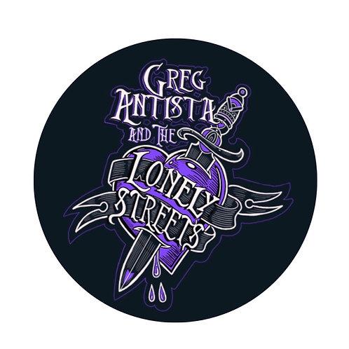 Greg Antista & The Lonely Streets Original Logo Pin