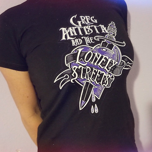 GREG ANTISTA & THE LONELY STREETS T-SHIRT - Womens