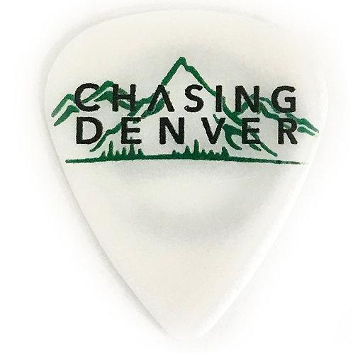 Chasing Denver Guitar Pick