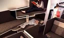 aircraft sleeping cabin module