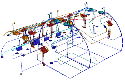 transpose aircraft electrical layout