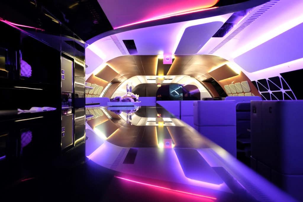 aircraft restaurant module