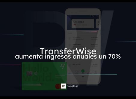 Los ingresos anuales de TransferWise aumentaron en un 70%🚀