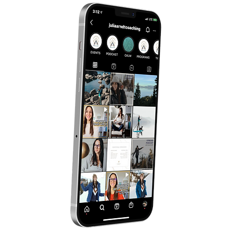 iphone of Julia Arndt Coaching Instagram