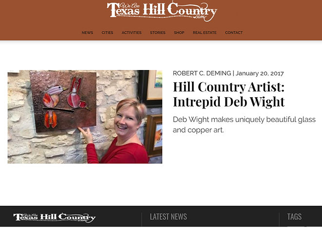 Texas Hill Country Article