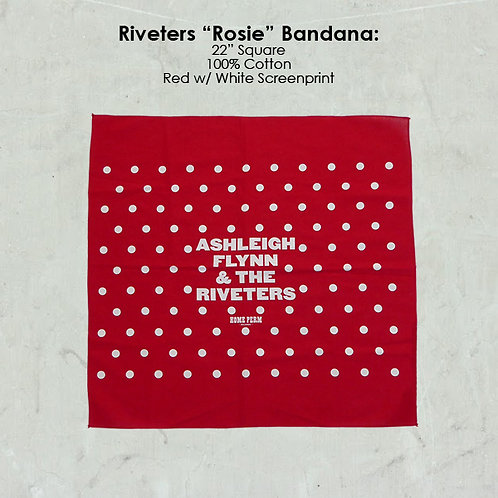 "Riveters ""Rosie"" Bandana"