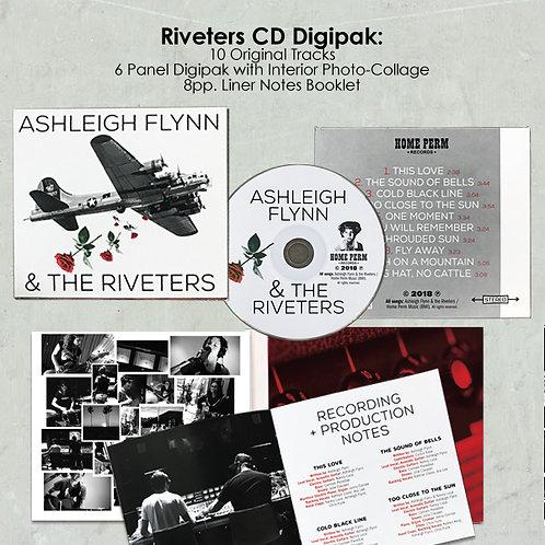 Ashleigh Flynn & The Riveters Signed CD
