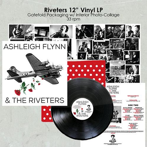 Ashleigh Flynn & The Riveters Signed LP