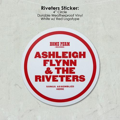 Riveters Sticker
