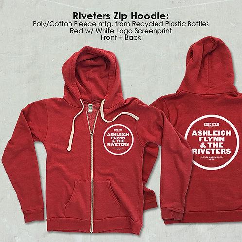 Riveters Zip Hoodie