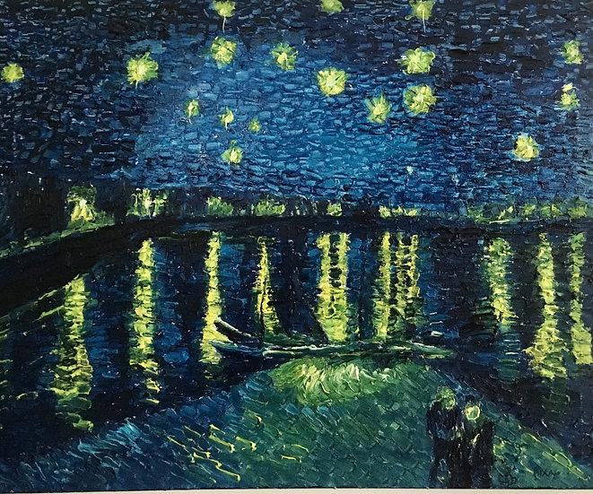Starry night on the rhone