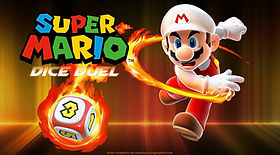 Super Mario Dice Duel ESL EFL foreign language game