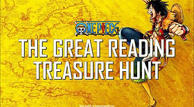 One Piece - The Great Reading Treasure Hunt ESL EFL foreign language game