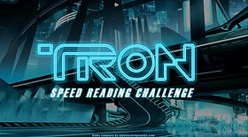 Tron Speed Reading Challenge ESL EFL foreign language game
