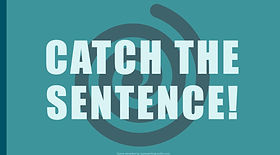 Catch the Sentence ESL EFL foreign language game