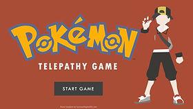 Pokemon Telepathy ESL EFL Foreign Language game PowerPoint