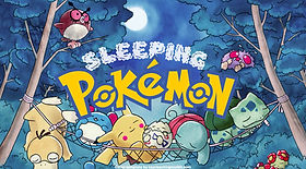 Sleeping Pokemon ESL EFL foreign language game