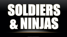 Soldiers & Ninjas ESL EFL foreign language game