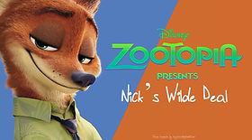 Zootopia Nick's Wilde Deal review PowerPoint game
