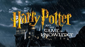Harry Potter and the Game of Knowledge Review game PowerPoint