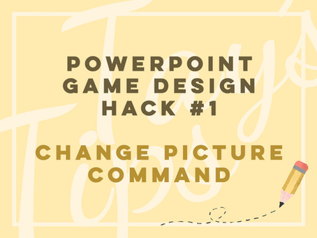 Powerpoint Game Design Hack #1