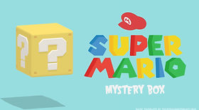 Super Mario Mystery Box PowerPoint review game