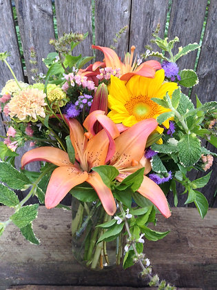 Full Flower Share - Mason Jar (5 weeks)