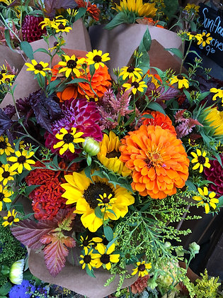 Fall Flower Share - Bouquets (4 weeks)