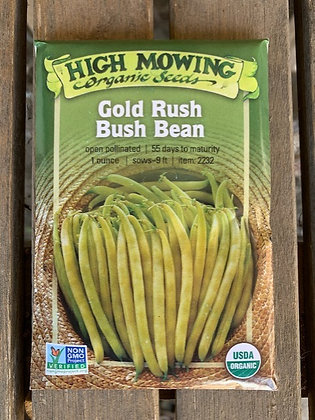 Bean Gold Rush Yellow Wax Bean