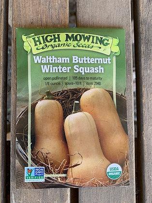 Winter Squash Waltham Butternut