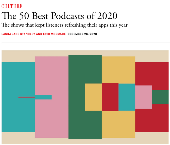 """""""Unfinished: Deep South"""" Named One of the Top 50 Podcasts of 2020 by The Atlantic"""