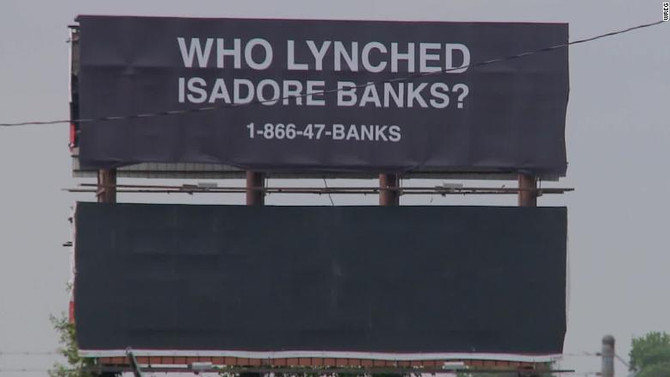 CNN: Arkansas billboard asks who lynched WWI veteran