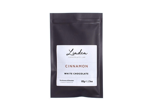 Cinnamon - White Chocolate | Linden Chocolate Lab