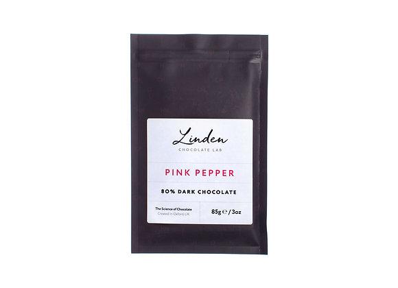 Pink Pepper - Dark Chocolate | Linden Chocolate Lab