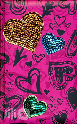 Hot Pink Sequin Teen Girl NIV Bible