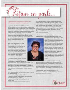 Claudette LeBel - Mai 2020