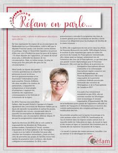 Francine Landry - Juillet 2020