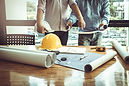 Business man and construction engineer,