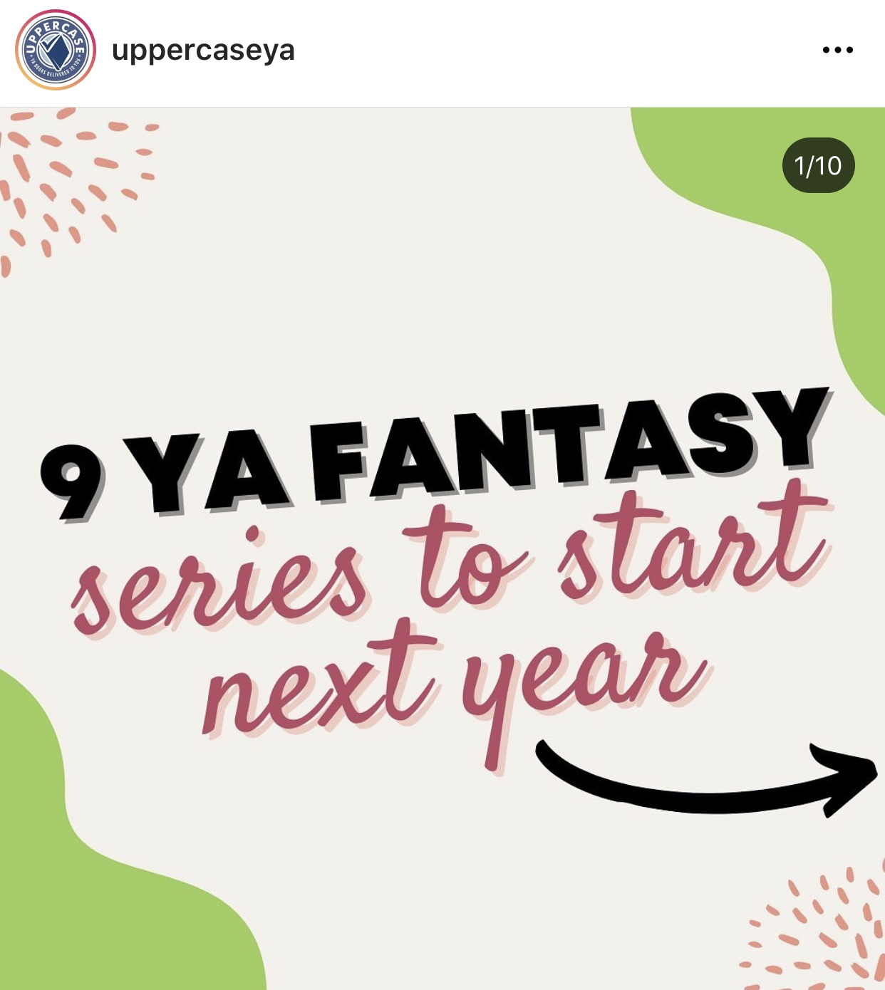 """Looking for a new fantasy series to sink into?? Well you still have to wait a bit 😬 BUT check out"