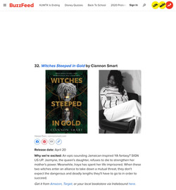 Buzzfeed praises Witches Steeped in Gold