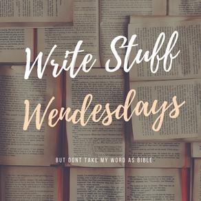 Write Stuff Wednesday: World Building, part 1
