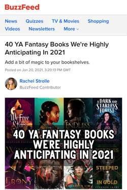 """""""Witches Steeped in Gold is poised to become one of the next big things in YA."""""""