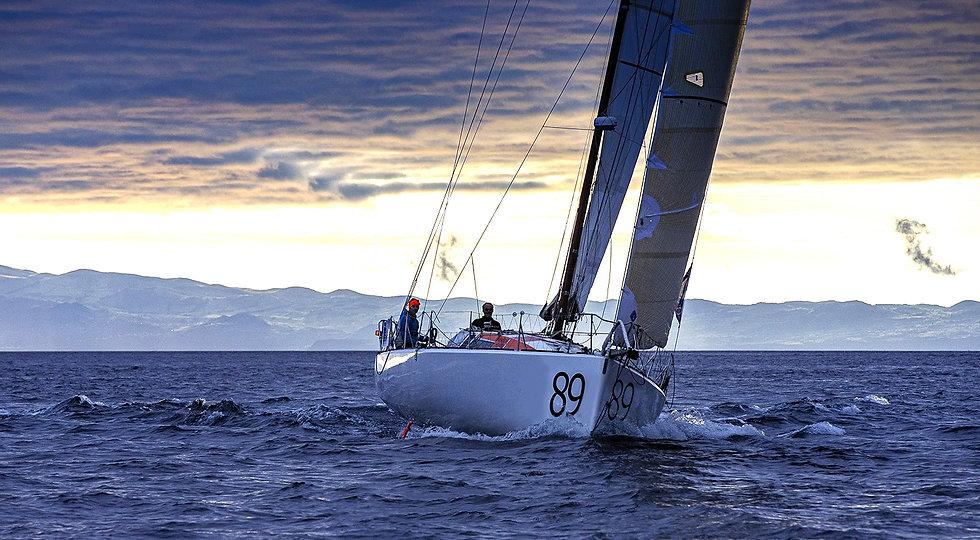 Photo paysage bateau Class 40 par Breschi