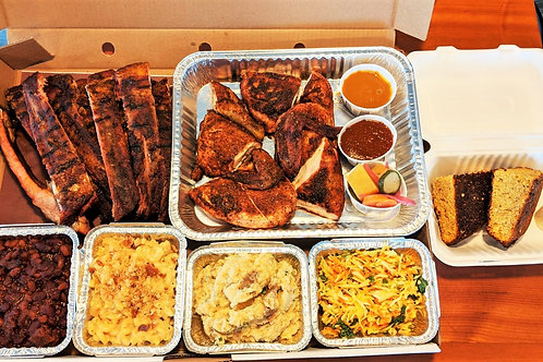 Large Chicken n Rib Platter (Feeds 6-8)