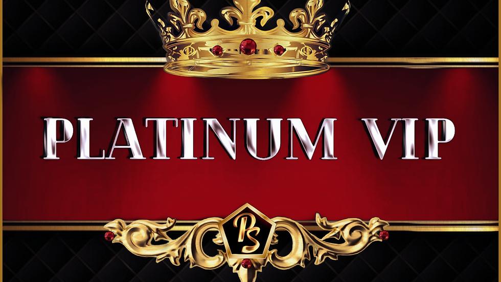 Platinum VIP Club Annual Membership (ONE YEAR)
