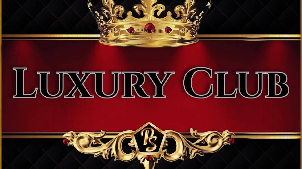 Luxury Club Annual Membership (ONE YEAR)