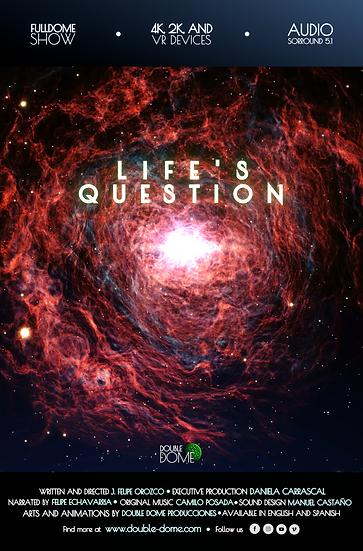 Life's Question - VR Fulldome Film - Audio Stereo Surround