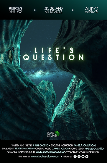 Life's Question - 2K Fulldome Film - Audio Surround 5.1